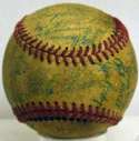 1955 White Sox  Team Ball 3.5