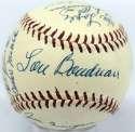 1956 Kansas City As  Team Ball  9.5