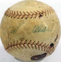 1956 Dodgers  Team Ball 3 JSA LOA (FULL)