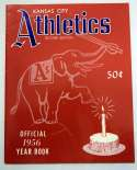 1956 Yearbook  Kansas City Athletics (2nd ed.) NM