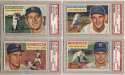 1956 Topps  Collection of 22 different Red Sox Signed Cards 9