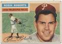 1956 Topps 180 R Roberts 9