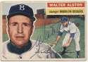 1956 Topps 8 Walt Alston 9