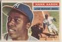 1956 Topps 31 Aaron  Ex