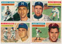 1956 Topps  282 different commons/minors Ex+ - Ex-Mt
