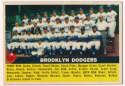 1956 Topps 166 Dodgers TC VG-Ex/Ex