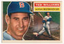1956 Topps 5 Ted Williams VG-Ex/Ex