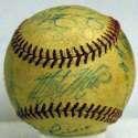 1956 White Sox  Team Ball 5