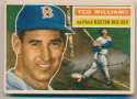 1956 Topps 5 Ted Williams VG-Ex mk