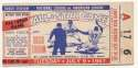 1957 Ticket  All Star Game VG-Ex