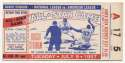1957 Ticket  All Star Game VG-Ex/Ex
