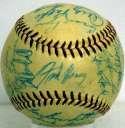 1957 Braves  Team Ball 8.5 JSA LOA (FULL)