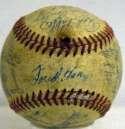 1957 Braves  Team Ball 7