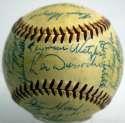 1955 Giants  Team Ball 9 JSA LOA