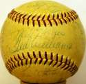 1957 Red Sox  Team Ball 8 JSA LOA