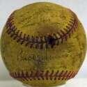 1957 Washington Senators  Team Ball 4