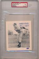 1957 Spic Span Braves   Spahn PSA 7.5