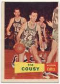 1957 Topps 17 Cousy Good