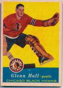 1957 Topps 20 Glenn Hall RC Ex