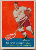 1957 Topps 42 Gordie Howe Ex
