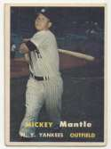 1957 Topps 95 Mantle Good