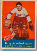 1957 Topps 35 Terry Sawchuk Ex-Mt