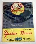 1957 WSP  At Yankees VG