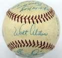 1958 Dodgers  Team Ball 8 JSA LOA (FULL)