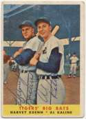 1958 Topps 304 Kuenn/Kaline (signed both) 9
