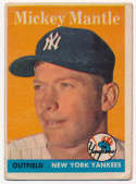 1958 Topps 150 Mantle GVG