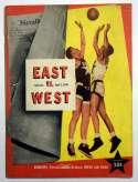 1949 Program  NCAA East - West (04/02/49) VG-Ex