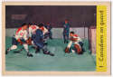 1959 Parkhurst 1 Canadiens On Guard Ex-Mt+