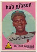 1959 Topps 514 Bob Gibson RC VG-Ex/Ex