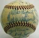 1959 Red Sox  Team Ball 8.5 JSA LOA
