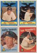 1959 Topps  16 different high #s Ex-Mt