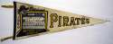 1960 Pennant  Pittsburgh Pirates Photo Pennant VG