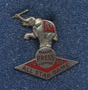 1960 Press Pin  All Star Game NM