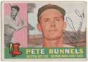 1960 Topps 15 Pete Runnels (D91) 9