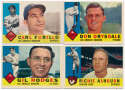 1960 Topps  344 different w/minors & 28 high #s Ex+