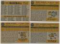 1960 Topps  33 different high numbers w/Fox Ex+