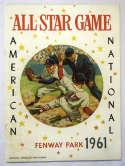 1961   All Star Game @ Fenway Ex