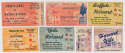 1961   Collection of 11 Harvard Football Tickets