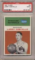 1961 Fleer 9 Costello PSA 9