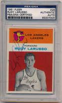 1961 Fleer 26 Rudy LaRusso (signed) 8.5