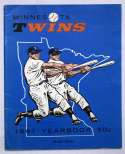 1961 Yearbook  Minnesota Twins Ex