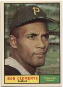 1961 Topps 388 Clemente NM