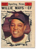 1961 Topps 579 Mays AS VG