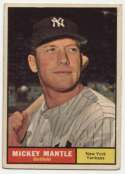 1961 Topps 300 Mantle VG