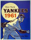 1961 Yearbook  NY Yankeees (Jay Publishing) Ex-Mt