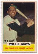 1962 Bazooka 38 Willie Mays Ex-Mt